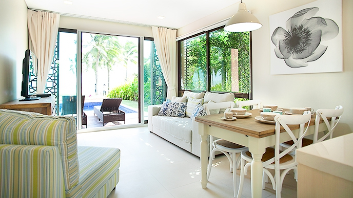 MRK PV 21A 2 Bedroom Ground Floor Luxury Pool Villa With